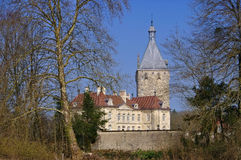 Chateau Talmay in France Stock Photos