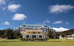 Chateau Tongariro in Tongariro National Park Royalty Free Stock Image