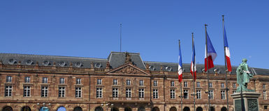 Chateau Tricolore Royalty Free Stock Photos
