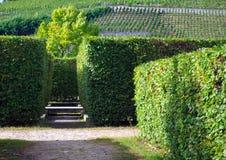Chateau Troja-Park Lizenzfreie Stockfotografie