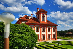 Chateau in Troja in Prague, Czech Republic Royalty Free Stock Photos