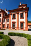 Chateau troja Royalty Free Stock Image