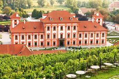 Chateau troja Stock Images