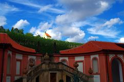 Chateau Troja. View on the chateau Troja in Prague, Czech Republic royalty free stock photography