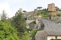 Chateau, Turenne ( France ) Stock Photography