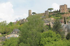 Chateau, Turenne ( France ) Stock Image