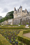Chateau Ussé Garden Royalty Free Stock Images