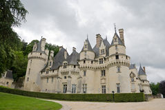Chateau Usse Stock Photography