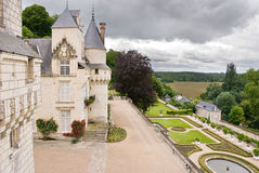Chateau Usse Immagine Stock