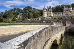 Chateau Usse - Loire Valley - France Stock Images