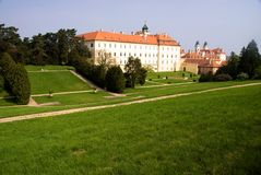 Chateau Valtice, south Moravia, Czech Republic Royalty Free Stock Photo