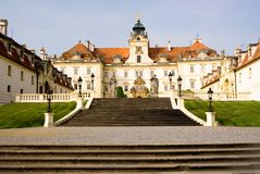 Chateau Valtice, south Moravia, Czech Republic. Valice is Unsc protected baroque chateau in the Czech Republic Royalty Free Stock Photography