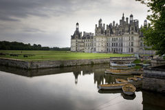 Chateau van Chambord Stock Afbeelding