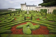 Chateau van Villandry Royalty-vrije Stock Afbeelding