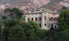 Chateau of Vauvenargues. Residence of Pablo Picasso between 1959 and 1973; the painter is also burried here royalty free stock images