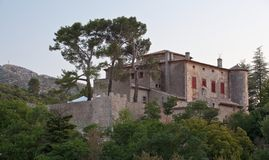 Chateau of Vauvenargues Stock Photography