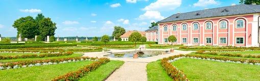 Chateau Veltrusy royalty-vrije stock afbeelding