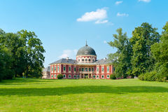 Chateau Veltrusy. Baroque style chateau Veltrusy built in 18th century near Prague, Czech Republic stock image