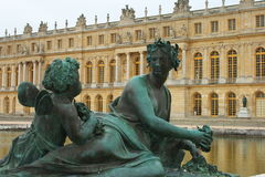 Chateau Versailles in France Stock Images