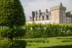 chateau villandry obrazy stock