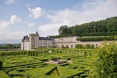 Chateau Villandry fotografia stock