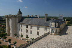 Chateau Villandry Stock Photos