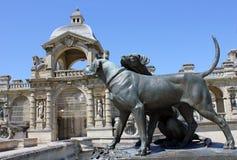 Chateau von Chantilly lizenzfreie stockfotos