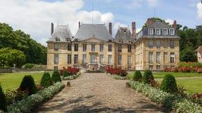 Chateau von Montgeroult Stockfotos