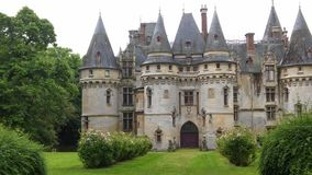 Chateau von Vigny Stockfotos