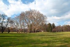 Chateau-Waldpark lizenzfreies stockfoto