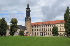Chateau in Weimar Stock Image