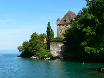 Chateau, Yvoire ( France ) Stock Photo
