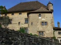 Chateau, Yvoire (Frankreich) Lizenzfreie Stockbilder