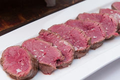 chateaubriand或里脊肉牛排 免版税库存图片