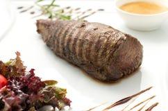 Chateaubriand steak Fotografering för Bildbyråer