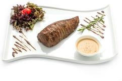 Chateaubriand steak Arkivbilder