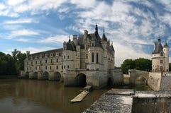 chateauchenonceau royaltyfria bilder