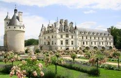 chateauchenonceau de Royaltyfri Foto