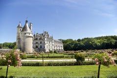 chateauchenonceau de Royaltyfria Bilder