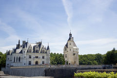 chateauchenonceau de Arkivbilder