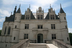 chateauchenonceau de france Loire Valley Arkivfoto