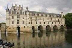 chateauchenonceau de france Loire Valley Chenonceaux france Royaltyfria Foton