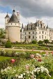 chateauchenonceau de france Loire Valley Chenonceaux france Royaltyfri Bild