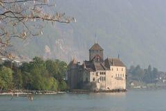 chateauchillon de montreux Royaltyfri Bild