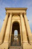 Chateaud'eau paleis - Montpellier, Frankrijk Royalty-vrije Stock Afbeeldingen