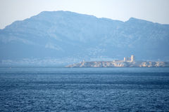 Chateaud'If, Marseille, Frankrike Royaltyfria Bilder