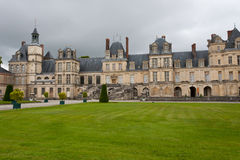 Chateaude Fontainebleau stockbilder