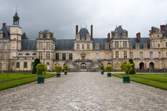 Chateaude Fontainebleau Stockfotografie