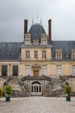 Chateaude Fontainebleau lizenzfreie stockfotos