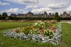 Chateaude Fontainebleau Lizenzfreie Stockfotografie